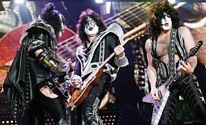 KISS Perform At Wembley Arena