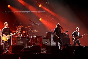 MTV Europe Music Awards 2009 - Foo Fighters Rehearsal