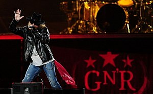 Guns N' Roses And Korn Perform In Townsville