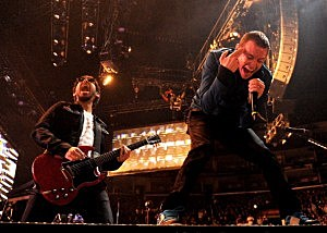 Linkin Park Performs At The Staples Center