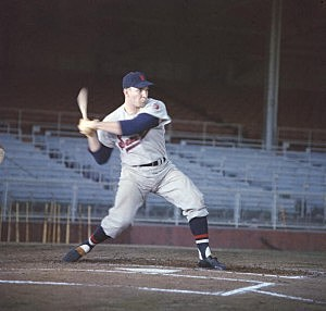 Harmon Killebrew During Batting Practice For Senators