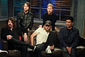 Foo Fighters Visit fuse Studio