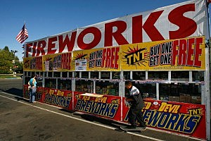 California Fireworks Sales Under Scrutiny Due To Wildfire Threat