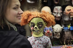 Preparations For Halloween Continue As Weekend Festivities Approach