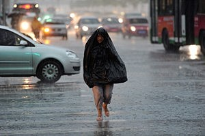 Thunderstorm Hits Beijing