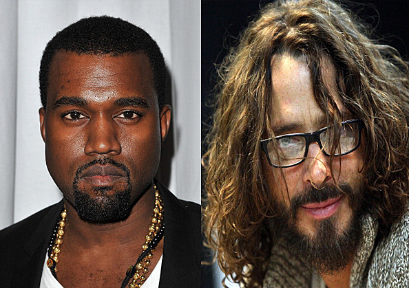 kanye west and chris cornell