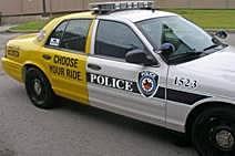 police cab