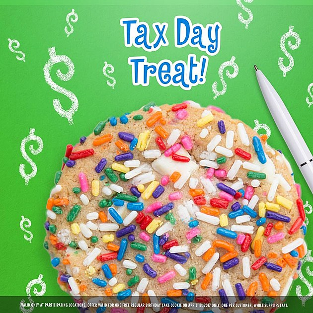 Great American Cookies Tax Day